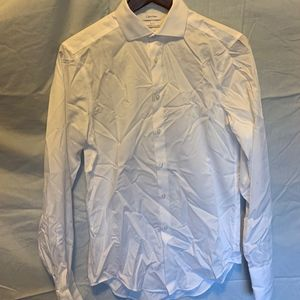 Men's white long sleeve dress shirt size 32/33